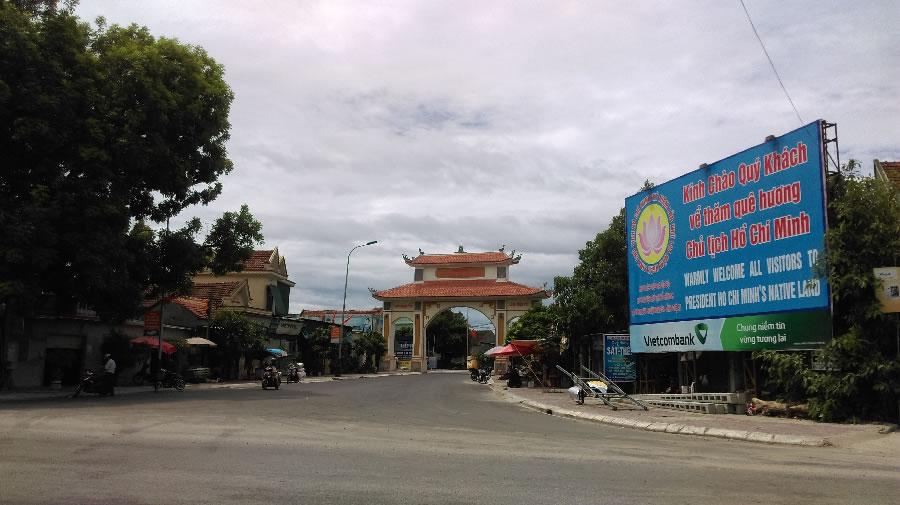 Xã Kim Liên huyện Nam Đàn Nghệ An
